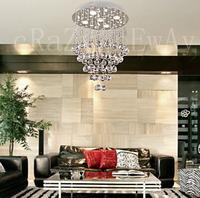 free  shipping  led gu10 K9 Crystal Chandelier with 5 lights - Baroque Design led lighting crystal