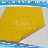 SINO CAR STICKER 1.52x15M 5FTx49FT Free Shipping 4D Carbon Fiber Film/Colorful Carbon Fiber Vinyl Sticker