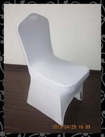 Free shipping chair cover -spandex  chair cover with arc ( white)