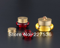 2013New Style Beauty Acrylic Cream Bottle ,cosmetic packaging ,30g  acrylic jar,100pcs/lot