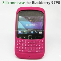free shipping,original silicone case with printed keypad for Blackberry 9790,new arrival/protective/soft/shell/defender