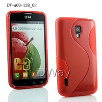 High quality TPU soft s line case for LG Optimus L7 II Dual P715 free shipping Optimus L7 II case