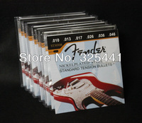 10 sets Musical Instrument ST3050R (010-046) NICKELPLATED STEEL STANDARD TENSION BULLETS 1st-6th Electric Guitar Strings