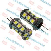 G4 18 LED SMD5050,g4 led light car,g4 12v  bulb,