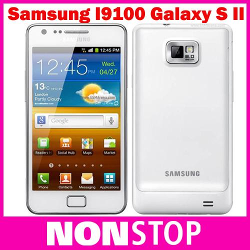 I9100 Unlocked Original Samsung GALAXY SII S2 I9100 Smartphone,Android Os,Wi-Fi,GPS,8.0MP,4.3inch Refurbished(China (Mainland))