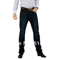 Men Jeans Men Brand  100% Cotton Designer Jeans Slim Fit Straight Leg Plus Size High Quality  Size32x34 34x34 36x34 38x36