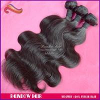 "Brazilians hair body wave 3pcs/lot hair weave wavy hair extension 10""~ 30"" Mixed length acceptable"