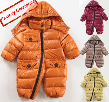 New  Spring Popular Baby Romper Down Parkas  BODYSUIT Outerwear & Coats Snow Wear Down Jacket Outerwear[iso-12-7-10-A1]