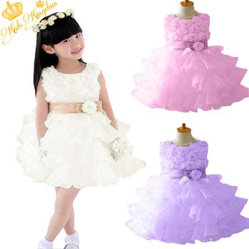 Розничная! 2015 новый дети формальные принцесса ну вечеринку косплей девушка платья с талии шифона платье девушки дети марка одежды