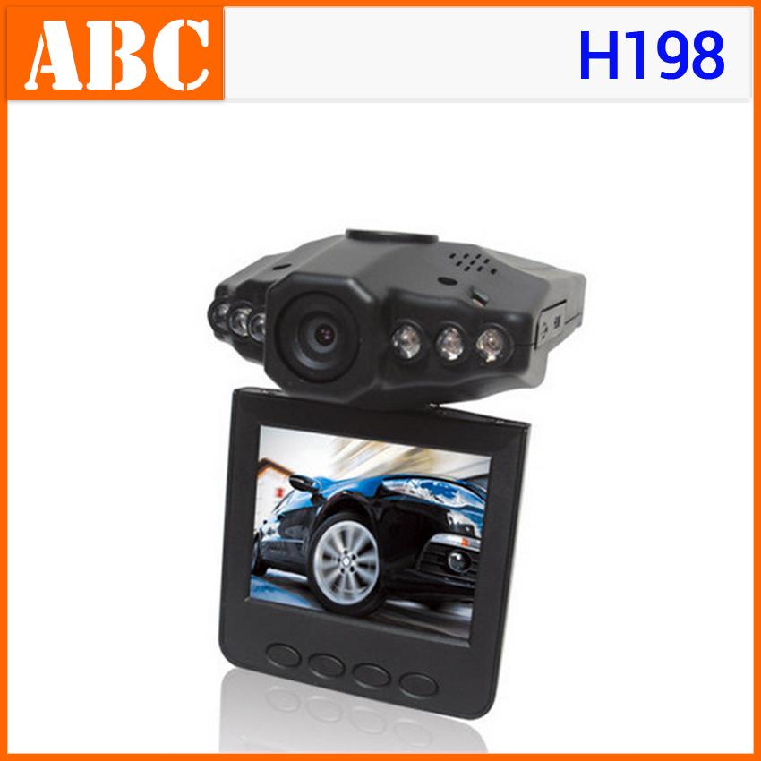 "Drop shipping! Car DVR H198 2.5"" TFT 960P Interpulation Night Vision 6 IR LED with Retail Box 640*480P 30fps Car Video Recorder(Hong Kong)"
