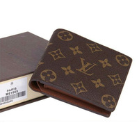 Fashion famous brand Louis wallet with original gift box,designer purse