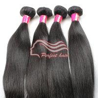 Grade 6A straight malaysian virgin hair straight 3bundle malasian virgin hair weaves
