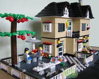 ORIGINAL PACKING 2014 new designed  toy blocks  816 pcs  villa building blocks model christmas toys for girls