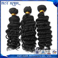Grade AAAAAA unprocessed 3pcs/lot virgin peruvian hair peruvian deep wave