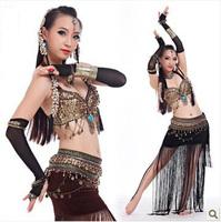 Tribal belly dance suit wind suit American Tribal Belly Dance Tribal Set Free shipping
