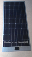 100 w monocrystalline silicon half flexible solar panel / 12 v battery charger/match with black cars