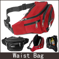 Free Shipping 2014  fashion Nylon women men waist bag belt bag Sports Waist Packs red blue black