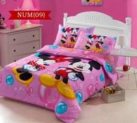 Minnie Mouse,cotton Printing 3pcs bedding set kid,children,girls duvet cover Set,bed linen home textile,bedclothes#C30-2