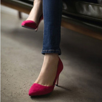 2013 New Fashion Classic OL Korean Chic Pump Court Mid Heels Shoes#T022