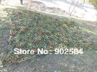 3X5M China Military Camouflage Camo Net Woodlands Leaves Camo Cover for Hunting Camping Free shipping