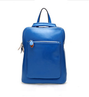 Free shipping! SMILYAN 2014 vintage fashion preppy style high quality geunine leather backpack for women casual school backpacks