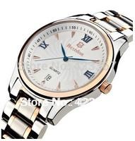 2015 Sale Switzerland Brand Mens Quartz Watches Casual Sapphire Waterproof 5atm Calendar Full Steel Fashion New Wristwatches