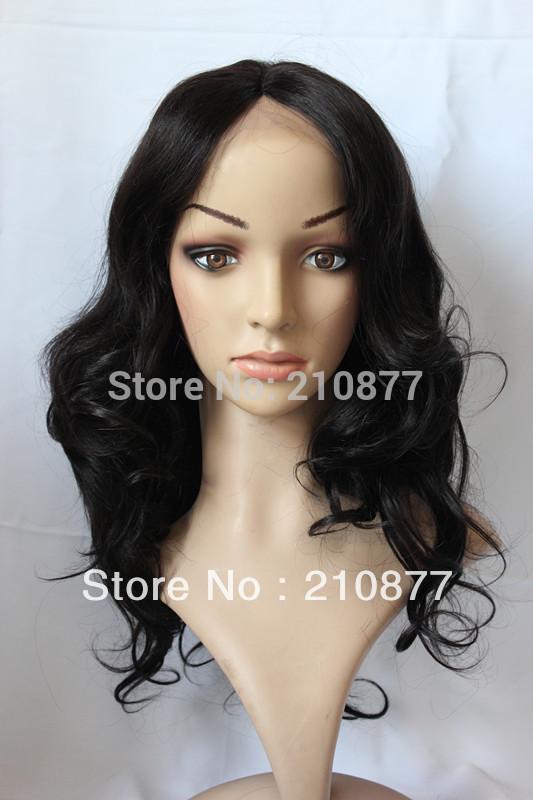 100-Human-Hair-Wig-Long-Wavy-hair-down-to-shoulder-wavy-virgin-lace