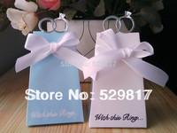 Favor box--With this Ring Elegant Icon Favor Box 50pcs/lot+Free Shiping