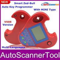 2014 Newly  SMART Zed-Bull ZEDBULL Key Programmer zed bull Transponder Clone Key Programmer NO TOKENS NO LOGIN CARD Free CNP