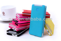 New products! Free shipping! 6000mAh built in cables Power Bank for mobile phone