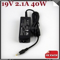 2014 Brand New 19V 2.1A 40W AC Power Adapter Laptop Charger For samsung Q1 Q30 R19 R20 AD-6019 High Quality With Free Shipping