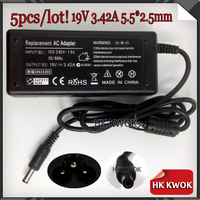 Wholesale 19V 3.42A Laptop AC Power Adapter Charger For A2L A2 SA6 A8 F8 S1 U3 N70 80 65W 15% OFF