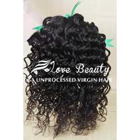 rosa hair products peruvian virgin hair, 6A unprocessed peruvian deep wave curly hair, 3pcs/lot free shipping hair extension