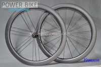 Free shipping Fiber Clincher Road Bike Carbon glossy/matte wheels  700C 50mm G3
