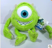 Monsters Inc Mike Wazowski toy 28cm high Monsters University Mike Wazowskidoll plush toy for children gift