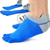NEW  Antibacterial Breathable Short Tube Cotton Five Toe Socks Sports socks Free Shipping