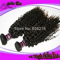 Same Mixed Inch-6A Quality hair-100 no chemical process Virgin PERUVIAN hair weave deep wave weave 4pcs/lot