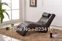 AC633  Free shipping Leisure fashion single leather chair