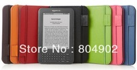 Amazon Kindle Keyboard (Kindle 3)3G Leather cover K3 Genuine Leather Case (Only For Kindle ED060SC7 Screen E-Book) Free shipping