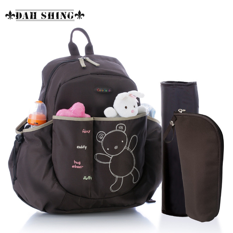AliExpress.com Product - Hot 5 colors cartoon bear multifunction baby diaper bags nappy bags backpack for mother 4pieces set
