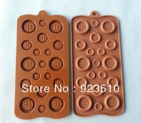 Food grade silicone chocolate mold silicone button-shaped jelly pudding mold