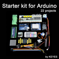 free shipping Starter Kit for Arduino/ Step Motor /Servo/ 1602 LCD/ Breadboard/ jumper Wire/ UNO R3