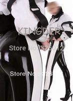 New arrival sexy black latex leggings for women