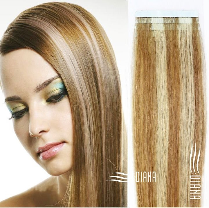 Virgin Russian Tape Hair Extensions 64