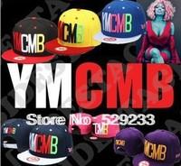 1PC Wholesale 2014 NEW YMCMB letter Punk swag sport  snapback hat Basketball baseball caps hip hop hat cap women hats for men