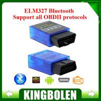Factory Price ELM327 V1.5 Mini Bluetooth ELM 327 OBDII OBD-II OBD2 Protocols Super Mini ELM327 Auto Diagnostic Scanner