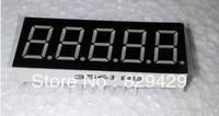 0.36 inch 5 red LED 7 segment display. female (CC)  male (CA)    10pcs/lot Free shipping