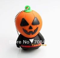 Cartoon USB Drive 1GB 2GB 4GB 8GB 16GB 32GB Memory Flash Mr Pumpkin Genuine