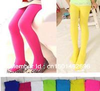 5pcs/Lot Top-Sale Solid Color Children Leggings Trouser kids pantyhose Dancing Leggings,Kids Leggings for 1-12 ages Wholesale
