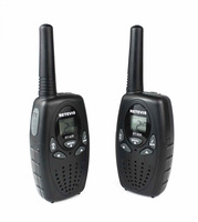 2pcs a pair RT-628 New Black Walkie Talkie 0.5W UHF 462.550-467.7125MHz Portable Two-Way Radio A1026A Fshow